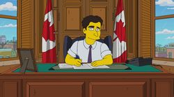 'Simpsons' Shows PM Crawling Out Of Office To Evade SNC-Lavalin