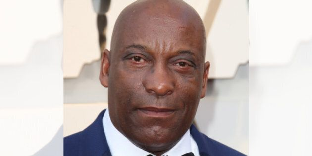 Director John Singleton arrives for the 91st Annual Academy Awards at the Dolby Theatre in Hollywood, California on Feb. 24, 2019.