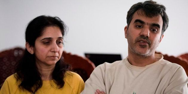 Manant Vaidya and his wife Hiral, speaks about losing his two parents, sister, brother-in-law, and two...