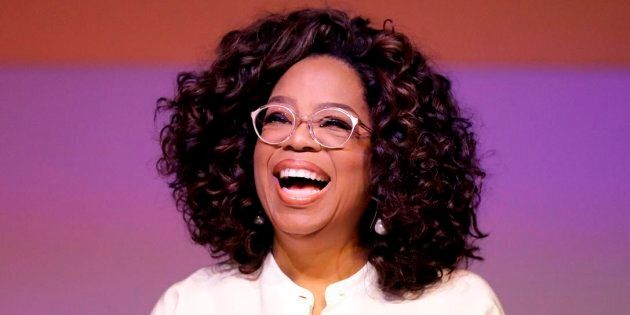 Oprah Winfrey at the University of Johannesburg in Soweto, South Africa, Nov. 29,