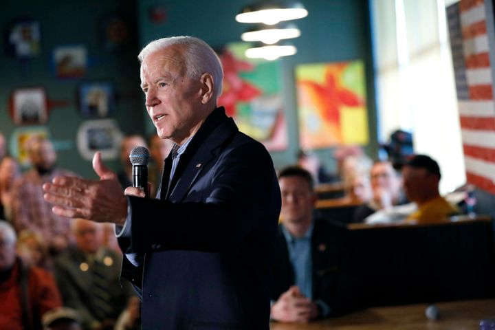 Joe Biden Shrugs Off Controversy In Debut Trip To New