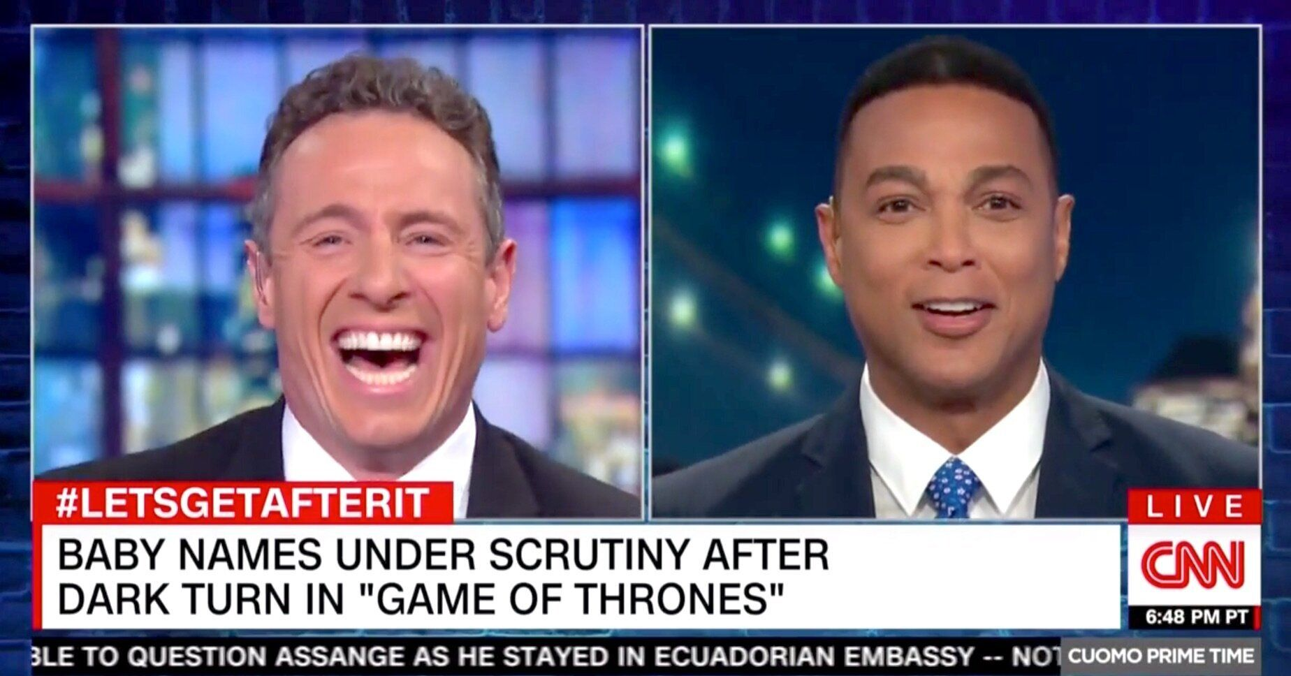 Chris Cuomo, Don Lemon
