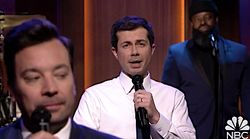 Pete Buttigieg Turns Up The Heat While Slow-Jamming The News With Jimmy