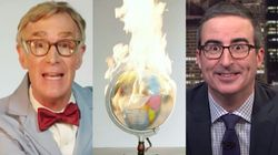 'The Planet's On F**king Fire!' — Bill Nye, John Oliver On Climate
