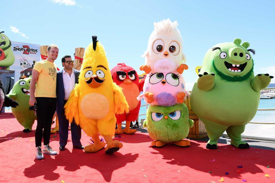 Τα Angry Birds στο κόκκινο