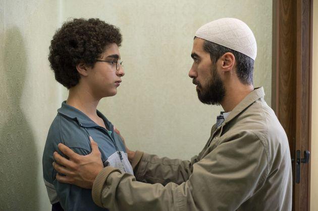 Idir Ben Addi et Othmane Moumen dans le film