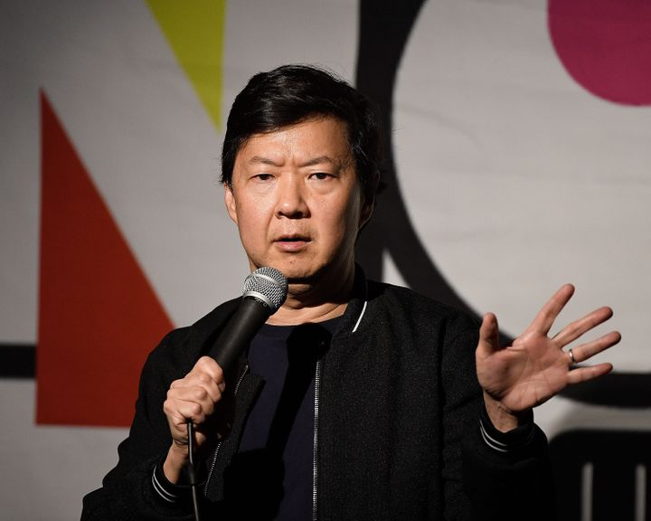 Ken Jeong reportedly did not mention Terry Bradshaw's insensitive comment at the same event.