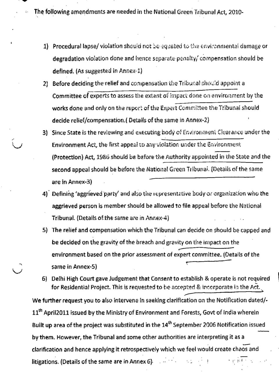 This page was also a part of documents attached with Rajya Sabha MP Sharad Pawar's letter. The main text...