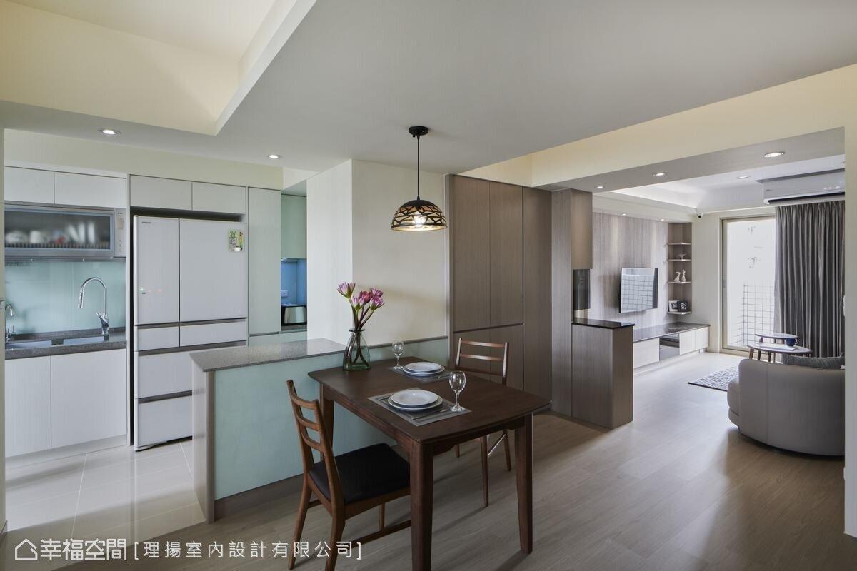 開放式餐廚空間