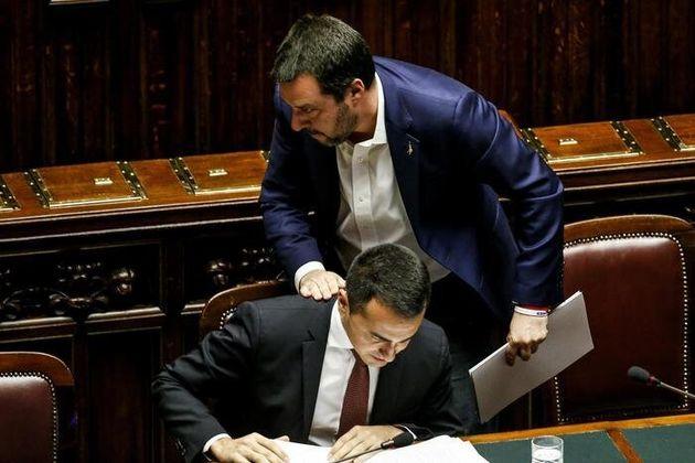 Salvini, Di Maio e il ribaltone (tra