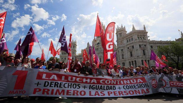 Manifestación del Primero de Mayo de 2019 en