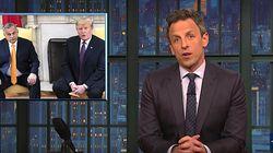 Seth Meyers: Trump Finds A Bro In 'Wannabe Dictator' Viktor