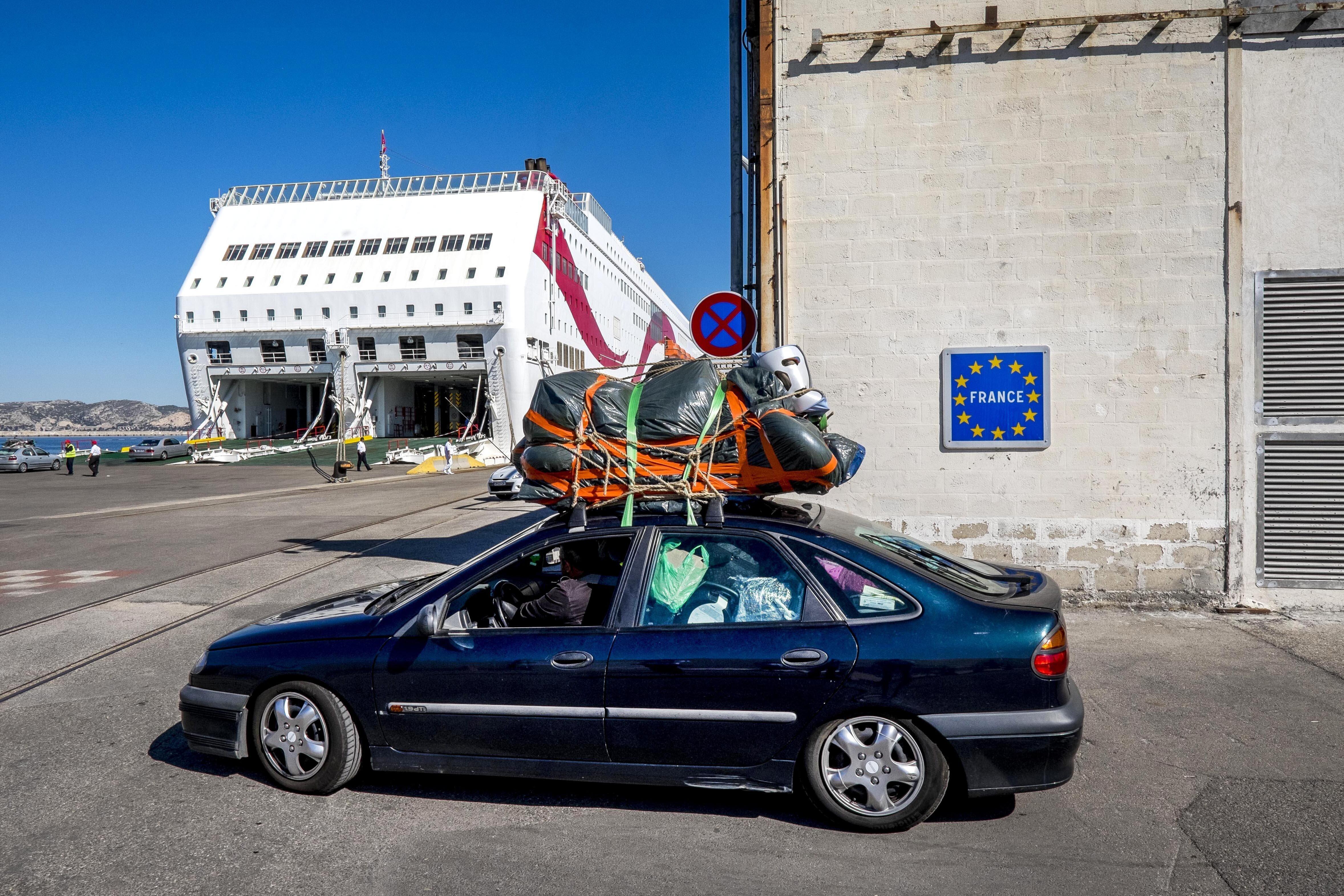 Le retour des Tunisiens résidents en France durant les vacances