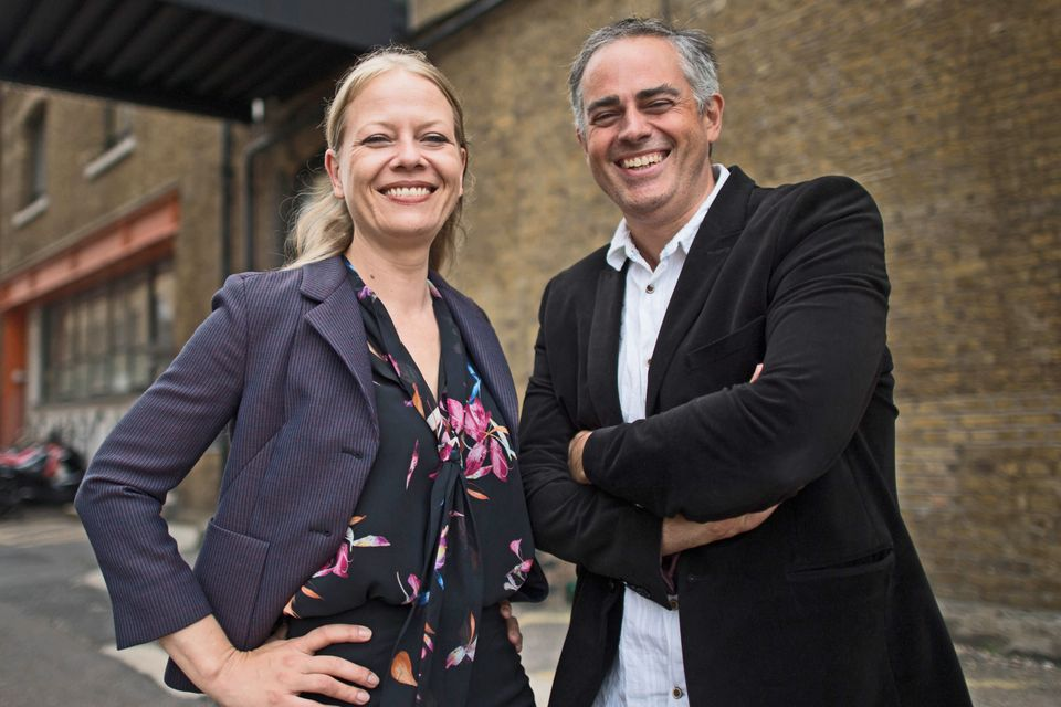 Green Party co-leaders Sian Berry and Jonathan