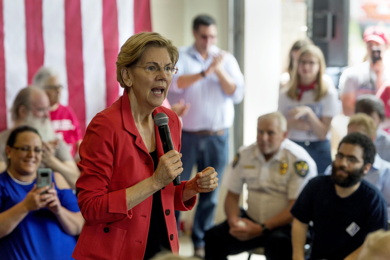 Sen. Elizabeth Warren (D-Mass.) is not going to do a town hall on Fox