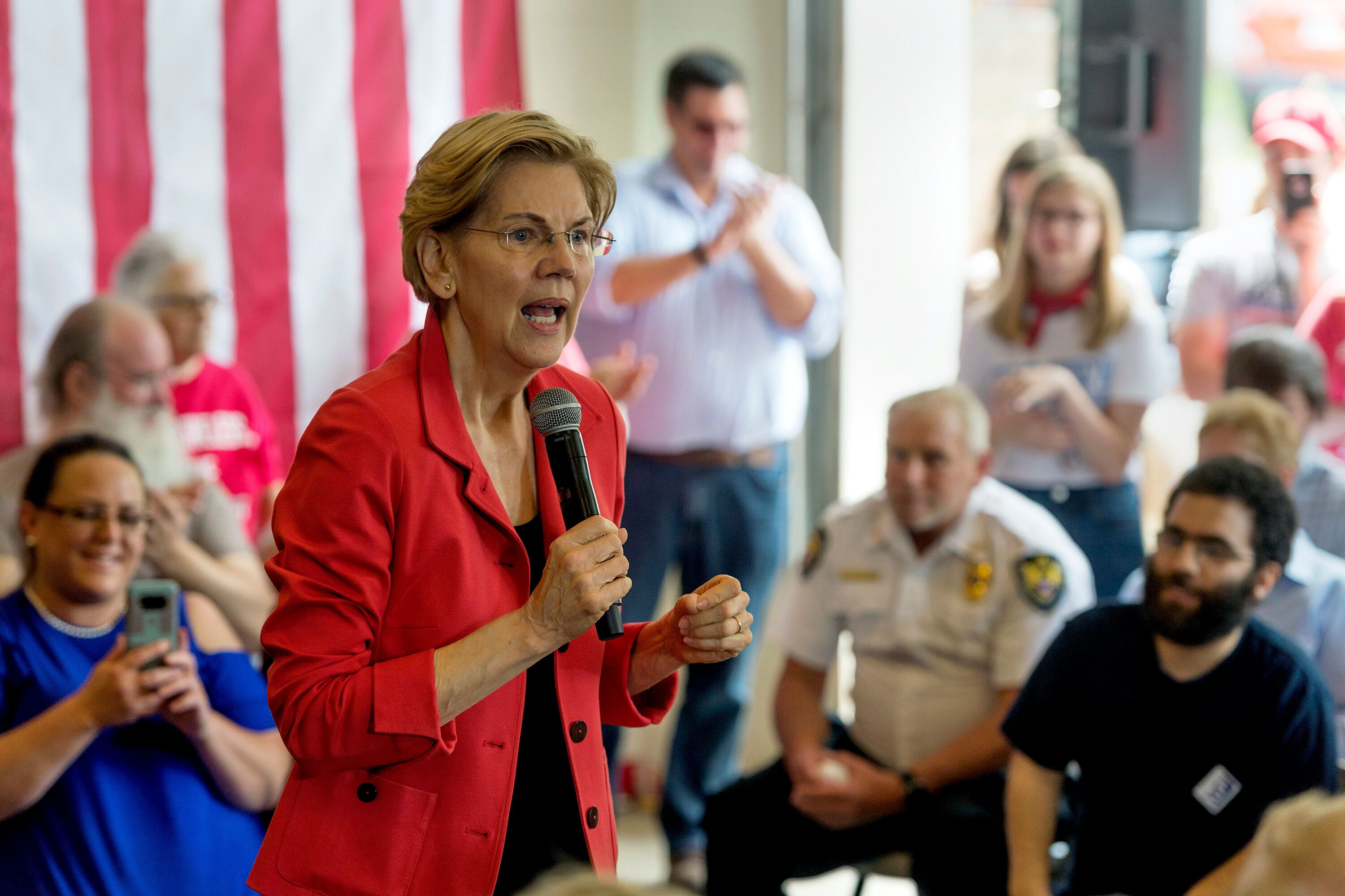 Sen. Elizabeth Warren (D-Mass.) is not going to do a town hall on Fox News.