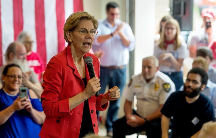 Sen. Elizabeth Warren (D-Mass.) is not going to do a town hall on Fox News.