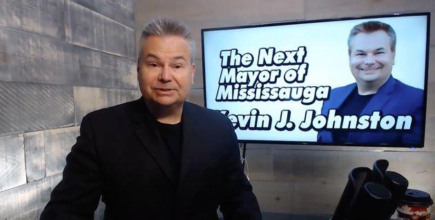 Kevin J. Johnston était récemment candidatà la mairie de