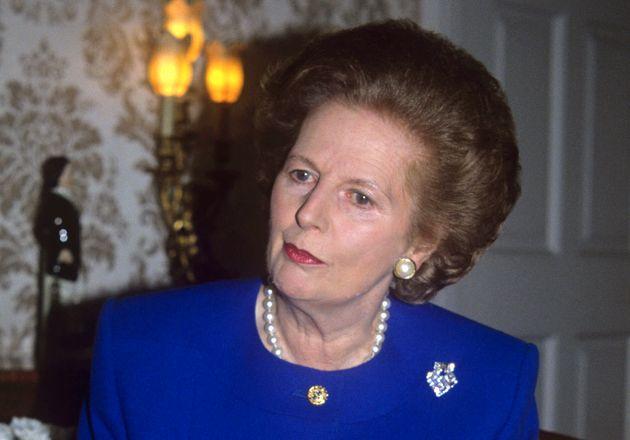 Η πρώην πρωθυπουργός της Βρετανίας Μάργκαρετ Θάτσερ.