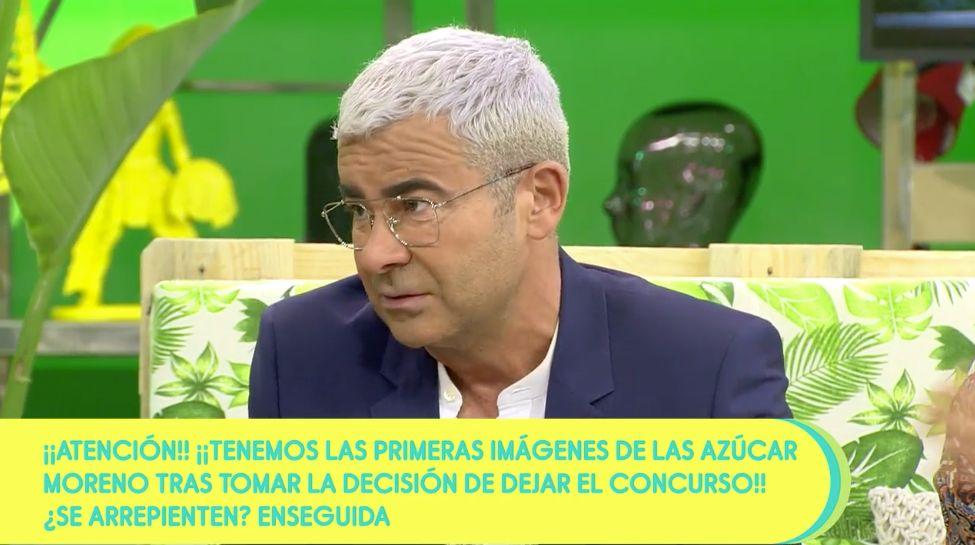 Jorge Javier Vázquez defiende a Jordi González por 'echar' a Azúcar Moreno de
