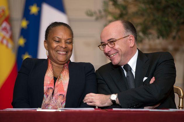 Ensemble dans les gouvernements sous François Hollande, Christiane Taubira et Bernard Cazeneuve...