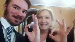 Le Pen se défend après avoir imité un suprémaciste et son geste pour un