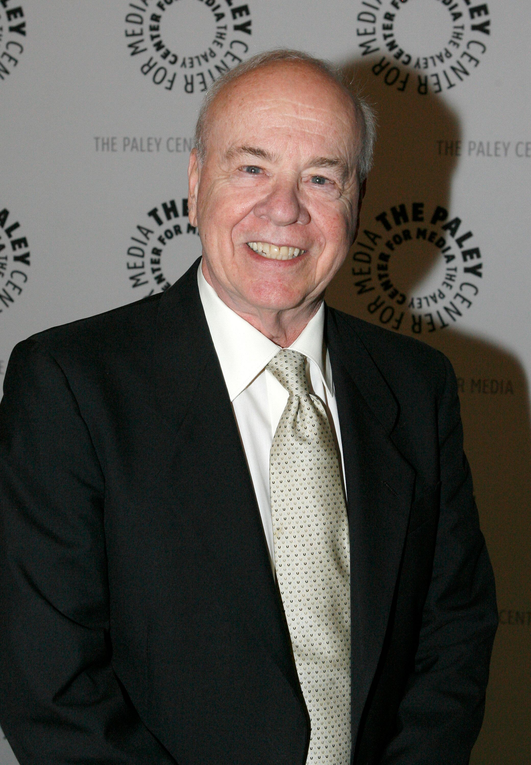 "Actor Tim Conway arrives at the American Masters premiere, ""Carol Burnett: A Woman of Character"" in Beverly Hills, Calif., Thursday, Oct. 25, 2007.  (AP Photo/Gus Ruelas)"