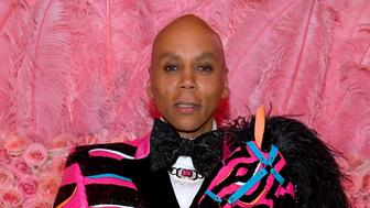 NEW YORK, NEW YORK - MAY 06: RuPaul attends The 2019 Met Gala Celebrating Camp: Notes on Fashion at Metropolitan Museum of Art on May 06, 2019 in New York City. (Photo by Kevin Mazur/MG19/Getty Images for The Met Museum/Vogue)