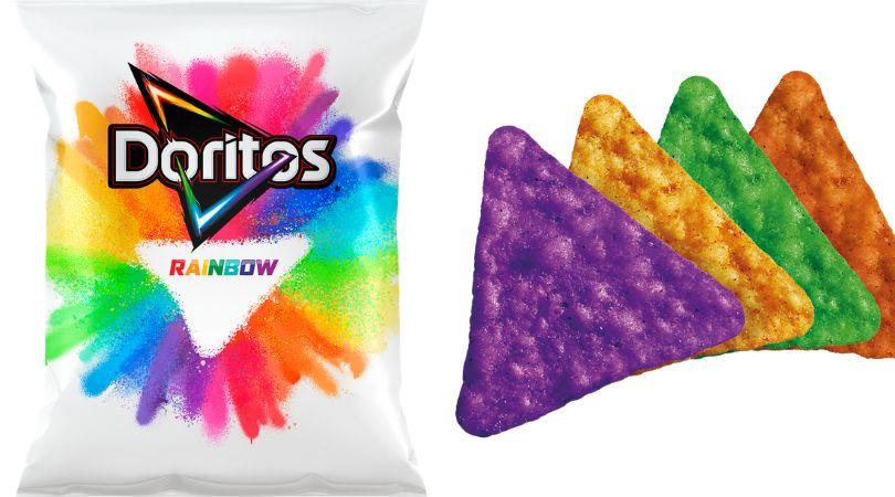 Doritos Rainbow: Marca relança salgadinho da cor do arco-íris em apoio à causa