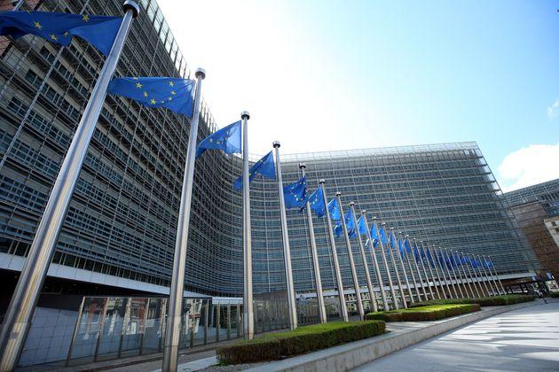 Vista exterior del edificio del Parlamento Europeo en