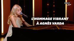 L'émouvant hommage d'Angèle à Agnès Varda et Michel