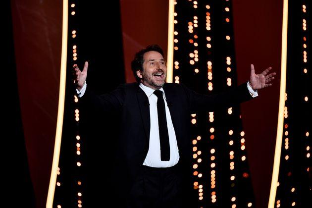 Edouard Baer, maître de la cérémonie d'ouverture du 72e Festival de Cannes, le 14...