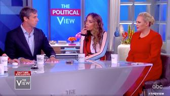 Beto O'Rourke on The View