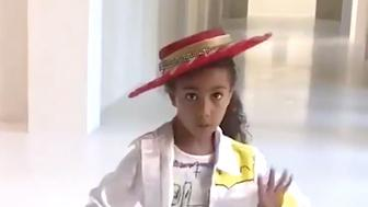 North West does Old Town Road
