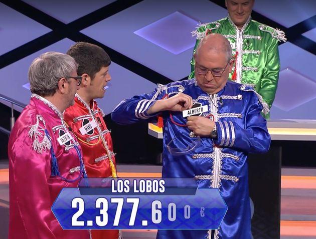 Esta imagen de 'Los Lobos' en 'Boom' (Antena 3) llama la atención por este (casi) imperceptible