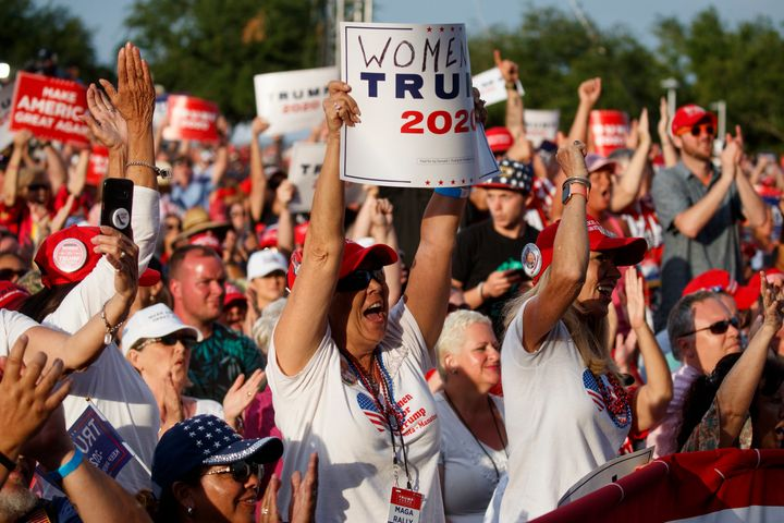 The idea to broadcast hourly messages from President Trump came from the number of people who attended his rally in Panama Ci