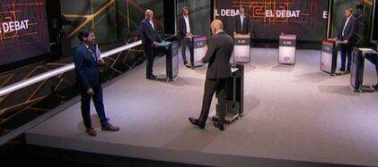 El representante de JxCat abandona el debate de TV3 nada más comenzar