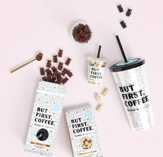 Balinhas de goma de café são realmente