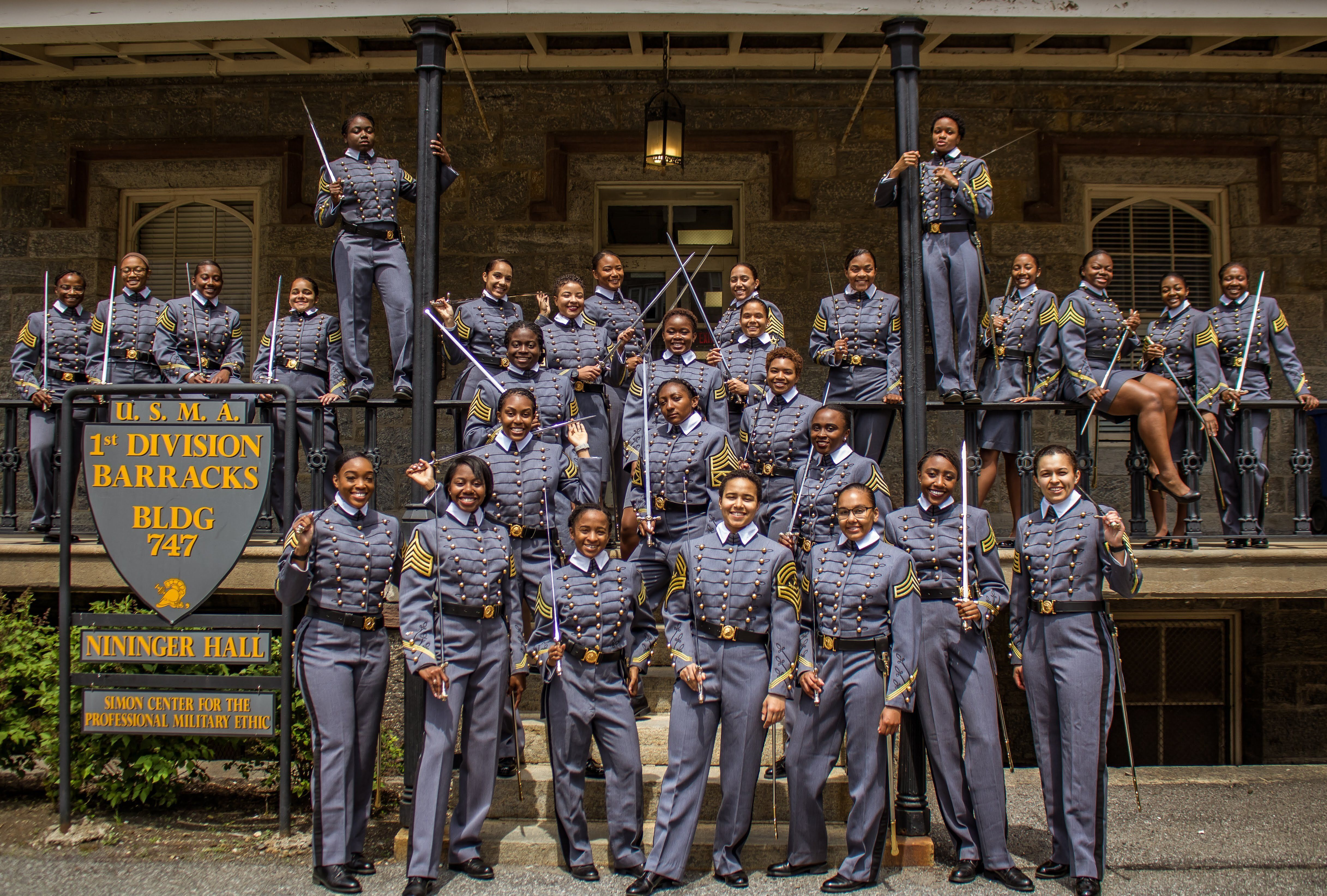 History in the making: 32 African American females will be with the Class of 2019, the most in the United States Military Academy's history.  (US Army photo by Cadet Hallie H. Pound)
