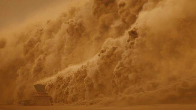 Tempestade de areia ameaça a vida dos moradores da Concha em nova temporada da