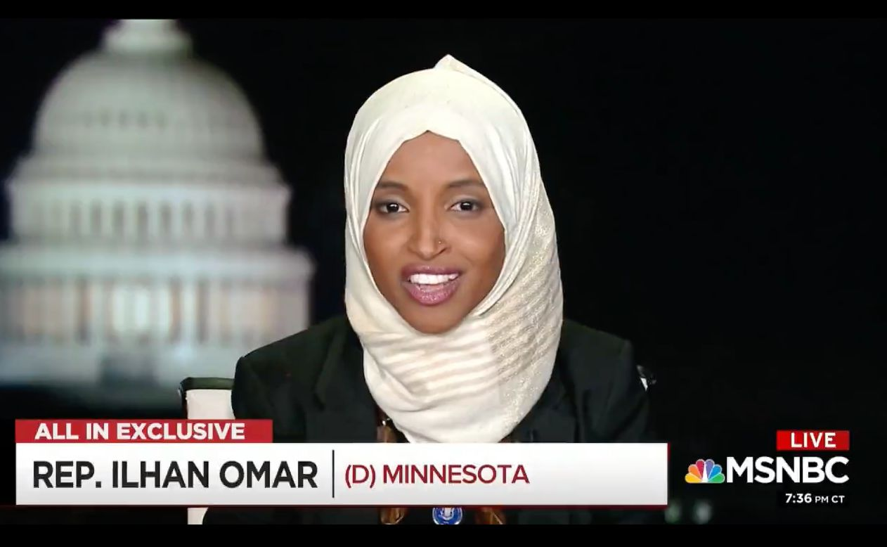 Omar on Chris Hayes