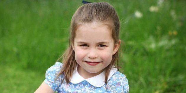 Kensington Palace released new photographs of Princess Charlotte ahead of her fourth