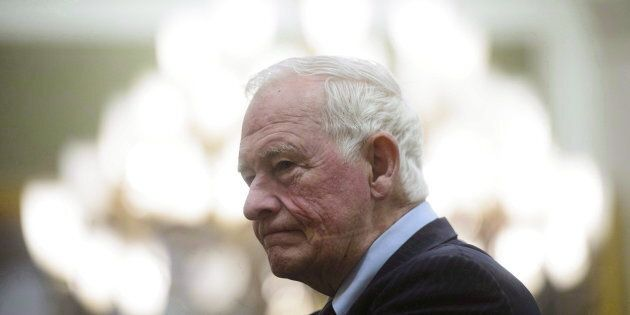 Former governor general David Johnston leads Canada's first-ever commission on leaders'