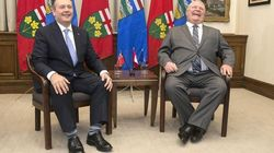 Jason Kenney, Doug Ford Celebrate 'Strong Alliance' With Photo
