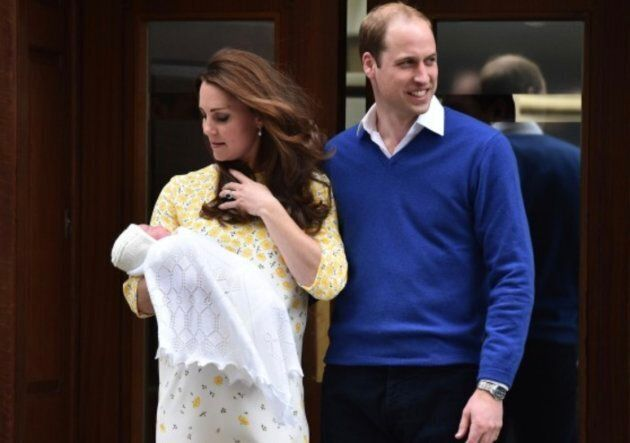 Kate Middleton and Prince William left St. Mary's Hospital on May 2 with a baby girl in their arms.