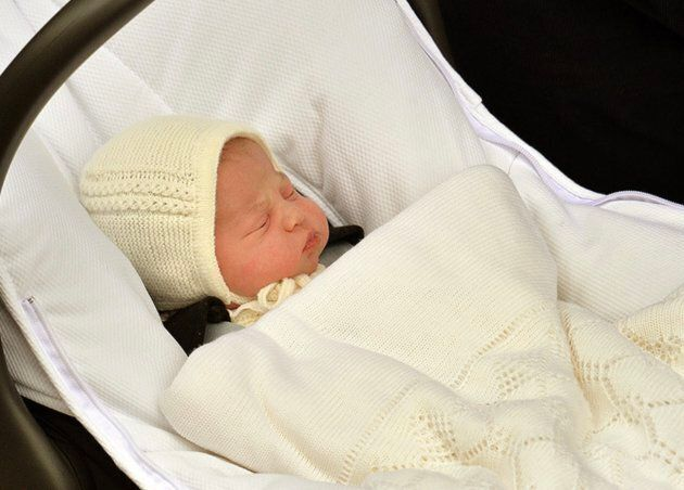 Less than 10 hours after her birth, the world was introduced to Princess Charlotte Elizabeth Diana of Cambridge.