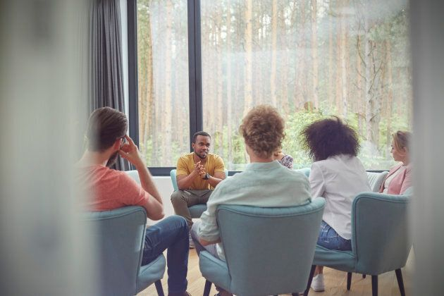 Group therapy is often a more affordable option than one-on-one care.