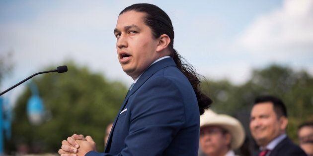 Khelsilem (Dustin Rivers), elected councillor and spokesperson for Squamish Nation, responding to a Federal...