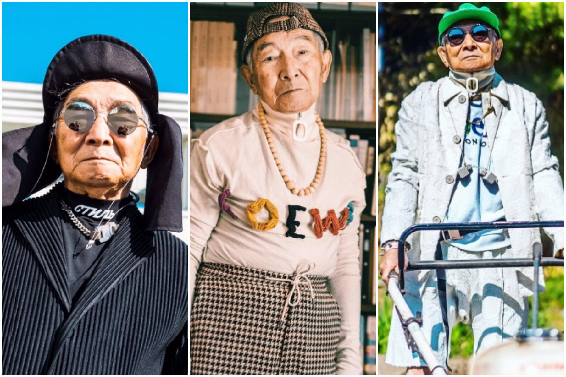 84歳のおじいちゃんに、高級ブランドの服を着せてみたら…。写真に大反響