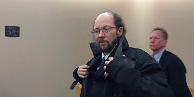 Kenneth Harrisson is shown at provincial court in St. John's, N.L., on March 21,